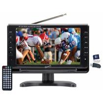 Television Portatil Hd 9 Pulg.usb,sd,doble A/v In,atsc/ntsc