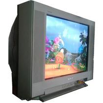 Tv Plana Sony 21 Kv-21fm300 Tsurraund Plana Wega No Lcd