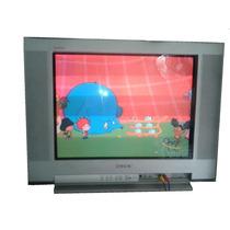 Tv Plana Sony 21 Kv-21fm100 Tsurraund Plana Wega Spo