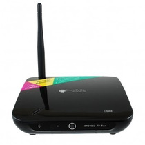 Tv Box Con Camara Y Microfono Skype Facebook Android 4.4