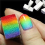 Esponja Degradado Uñas Dedos Manicure Efecto