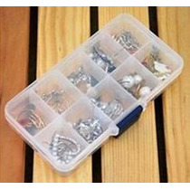 4 Cajas Vacías 10 Compartimentos P Guardar Decoración Uñas