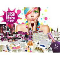 Kit Completo De Acrilico Organic Nails Lampara 36wts