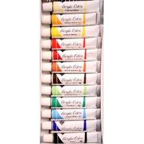 Acrílico Colores Juego Completo De 12 Tubos De Pintura 12ml