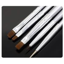 5 Pinceles Para Nail Art