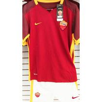 Uniformes Futbol Roma Playera, Short, Estampado Y Calcetas