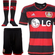Uniformes De Futbol Originales Completos Bayer Leverkusen