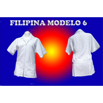 Filipina Medica Modelo Unisex Uniforme Enfermeria Medicina