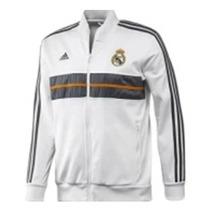 Chamarra Del Real Madrid Blanca Original