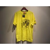 Playera Puma Borussia Dortmund Casual Algodon Talla L Linda