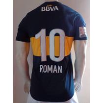 Playera D Boca Junior De Utileria Riquelme Libertadores