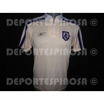 Playera Polo Saprissa De Costa Reebok Beige
