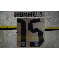 Estampado Borussia Dortmund Local 2013-2014 #15 Hummels,