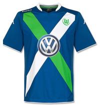 Jersey Adidas Vfl Wolfsburg 2015 Local Visitaoriginal