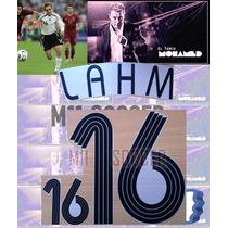 Estampado Alemania Mundial 2006 #16 Lahm