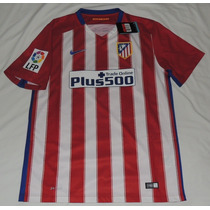 Jersey Atletico De Madrid Local 2015/2016 Parche Lfp