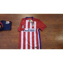 Jersey Nike Atletico De Madrid 2015-16 Local C/num Original
