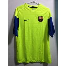 Jersey Nike Barcelona Fc Verde Fluorecente