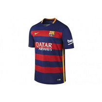 Jersey Niño Barcelona Nike Local 2016 Original Playera