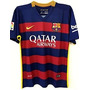 Playera Tipo Jersey Barcelona Messi O Neymar Local 2016