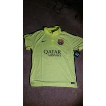 Jersey Nike Barcelona Tercera 2014-15 C/ Num Original 100%