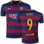 Playera Loca Visita # 9 Suarez Niño Adulto Nike Original