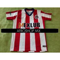 Jersey Playera Chivas Guadalajara Retro Mexlub Local