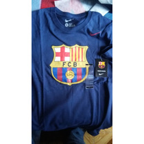 Playera Casual Barcelona De España 100% Original Oferta