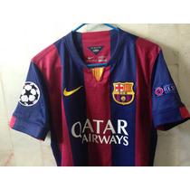 Jersey Luis Suárez Barcelona Nike Original Parches Champions