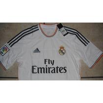 Jersey Adidas Real Madrid 100%original 13-14 *oferta*no Clon