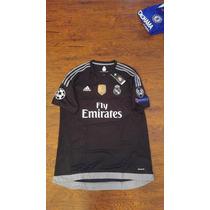 Jersey Adidas Real Madrid 15-16 Portero Local Visita Origina