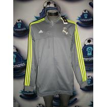 Chamarra Oficial Original Real Madrid Visita Adidas 15-16