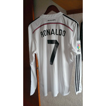 Jersey Real Madrid 2014-2015 Cristiano Ronaldo Manga Larga