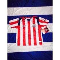 ¡¡¡ultimo!!! Jersey Chivas 2004 P/niño 6-7 Años