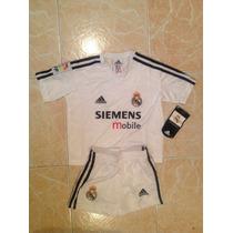Real Madrid Adidas Conjunto Niño Original Talla 4-5 Años