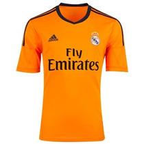 Jersey Adidas Real Madrid 100% Original 13-14 D Gala Naranja