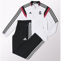 Conjunto De Pans Adidas Real Madrid 100%original 14-15 Adult