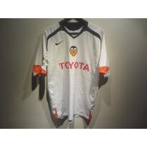 Jersey Nike Valencia España Total 90 Local La Liga Blanco