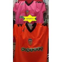 Jersey Valencia Kappa Original Naranja Liga Española Lfp