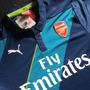 Jersey Arsenal Visita 2015 Talla M Azul Puma