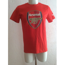 Playera Arsenal Fan Tee Color Rojo Temporada 2015-2016 Puma