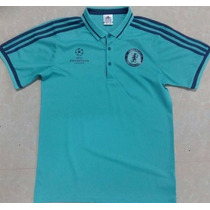 Oferta Camiseta Tipo Polo Chelsea Champions Envío Gratis
