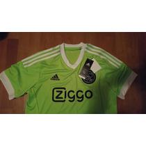 Jersey Ajax Holanda Adidas Original Visita 2015-16