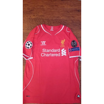 Jersey Liverpool Warrior 2014-15 Champions Original Local