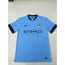 Jersey Nike Manchester City Local 14/15 S/n. Talla M. Hombre