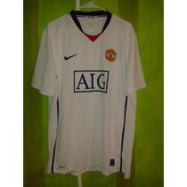 Pro - Manchester United Jersey Visita 08-09 Nike Playera Xl
