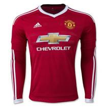 Jersey Manchester Utd. Local M. L. + Nombre & No. Oficial