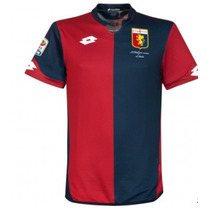 Jersey Genova Genoa Italia Lotto Local Visita 3er 2015-16