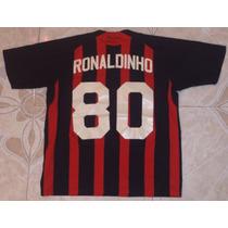 Jersey Adidas, 46 X 55 Cm, Inter De Milan, Ronaldinho, 2009