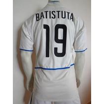 Playera Del Inter Milán Climacool Doble Tela Batistuta